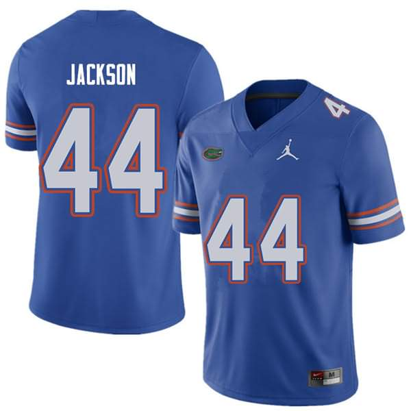 Men's Florida Gators #44 Rayshad Jackson Royal Jordan Brand NCAA College Football Jersey XUF203XJ