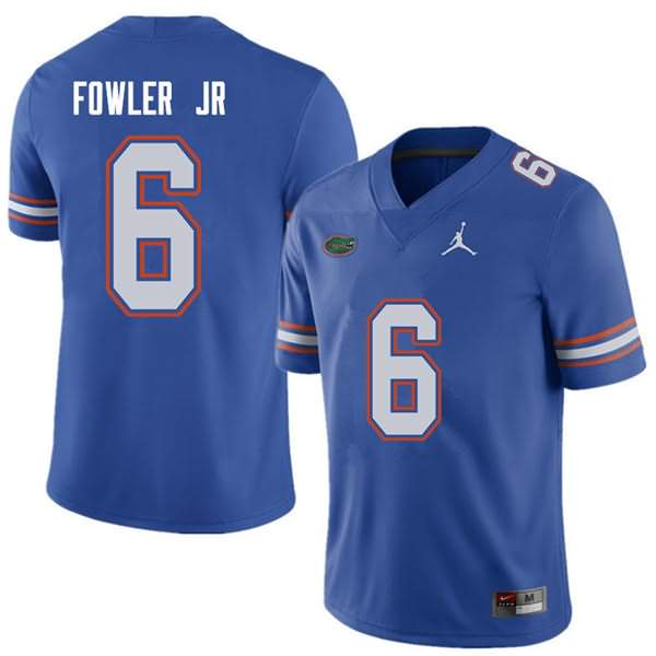 Men's Florida Gators #6 Dante Fowler Jr. Royal Jordan Brand NCAA College Football Jersey QQP745VJ