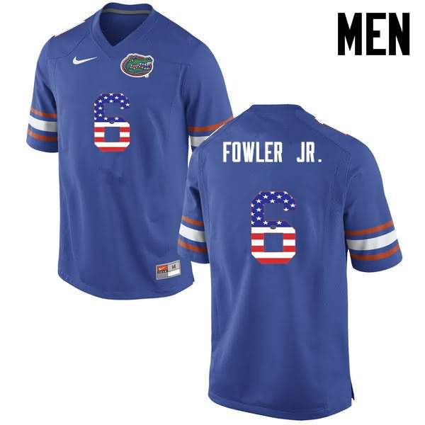 Men's Florida Gators #6 Dante Fowler Jr. USA Flag Fashion Nike NCAA College Football Jersey CTZ503JJ