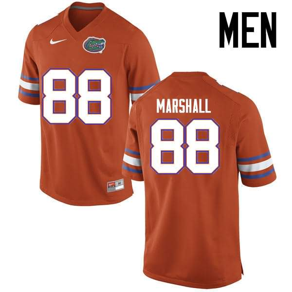 Men's Florida Gators #88 Wilber Marshall Orange Nike NCAA College Football Jersey AAF706KJ